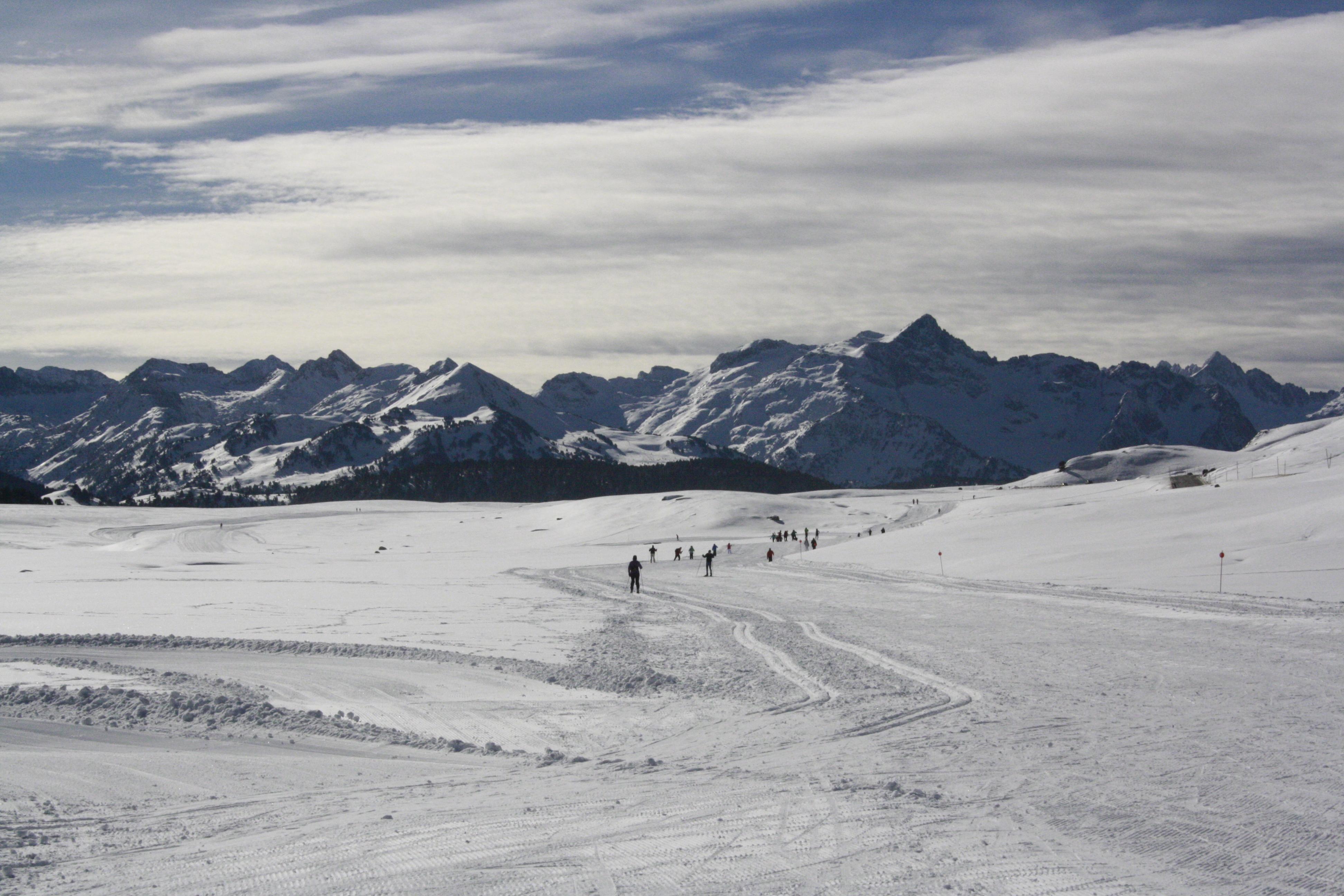 Fantásticas condiciones de la nieve antes de la Marxa Beret