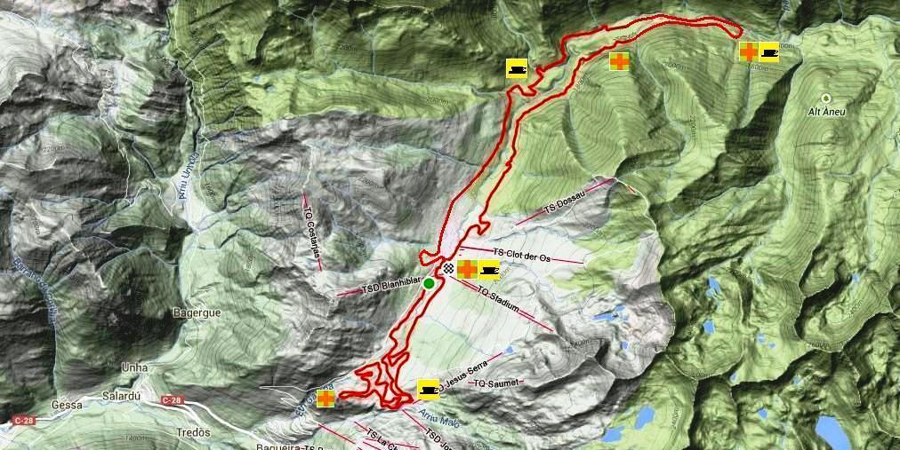 Mantenimiento del circuito de 42 km